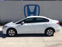 Look at this 2015 Honda Civic Sedan LX. Its Variable
