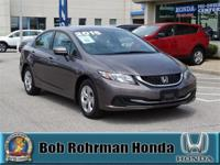 Recent Arrival! CARFAX One-Owner. New Price! HONDA