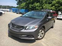 New Arrival! This Civic is Certified! CarFax One Owner!