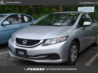 Honda Certified, CARFAX 1-Owner, ONLY 23,973 Miles! LX