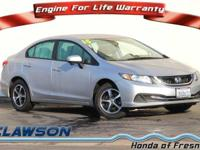 EPA 39 MPG Hwy/30 MPG City! CARFAX 1-Owner, ONLY 19,017