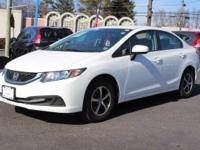 This 2015 Honda Civic Sedan SE is proudly offered by
