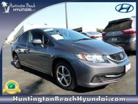 This 2015 Honda Civic Sedan SE will sell fast