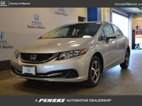 CARFAX 1-Owner, Honda Certified, LOW MILES - 27,742! SE