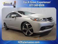 2015 Honda Civic Si Alabaster Silver Metallic