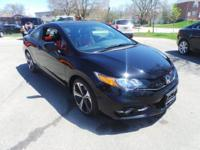 CARFAX One-Owner. Clean CARFAX. Black 2015 Honda Civic