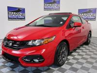 Red 2015 Honda Civic Si FWD Close-Ratio 6-Speed Manual