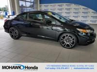 Recent Arrival! This 2015 Honda Civic Si in Crystal