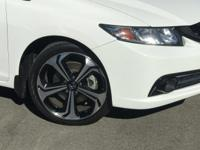 Options:  2015 Honda Civic Si|White|Carfax One-Owner.