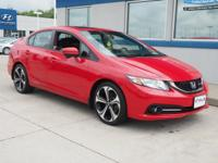 Clean CARFAX. 2015 Honda Civic Si FWD Close-Ratio