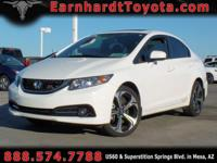 We are thrilled to offer you this 1-OWNER 2015 HONDA