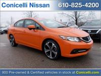 CarFax 1-Owner, This 2015 Honda Civic Sedan Si will
