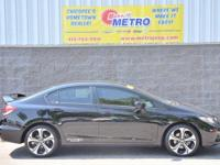2015 Honda Civic Si  in Crystal Black Pearl, Bluetooth