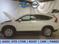 EX-L!!! Loaded up is this 2015 Honda CR-V with 43,000