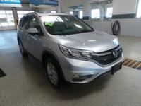 CARFAX One-Owner. Clean CARFAX. 2015 Honda CR-V EX-L