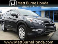 This CR-V was purchased, serviced and traded at Matt