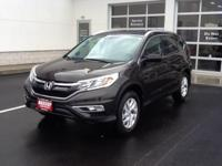 Take command of the road in the 2015 Honda CR-V!