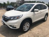 Clean CARFAX. CARFAX One-Owner. 2015 Honda CR-V EX-L