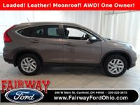 Just Reduced***2015 Honda CR-V EX-L AWD***Power