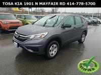 2015 Honda CR-V LX New Price! ~~~ DARROW CERTIFIED
