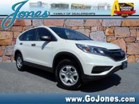 This 2015 Honda CR-V LX is proudly offered by Jones