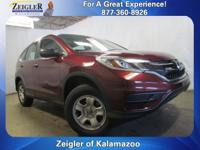 2015 Honda CR-V LX Basque Red Pearl II **ONE OWNER**,