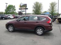 Brand new tires on this sharp, off-lease, CR-V with all