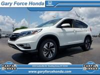 CARFAX One-Owner. Clean CARFAX. White 2015 Honda CR-V