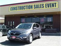 Outstanding design defines the 2015 Honda CR-V! A great