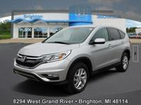 Options:  2015 Honda Cr-V Ex|Silver|Carfax One-Owner.