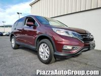 33/26 Highway/City MPG** Clean CARFAX. 2015 Honda CR-V