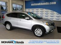 Recent Arrival! This 2015 Honda CR-V EX in Alabaster