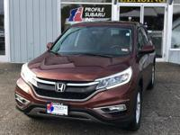 Outstanding design defines the 2015 Honda CR-V! You'll