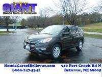 This 2015 Honda CR-V EX AWD is offered to you for sale