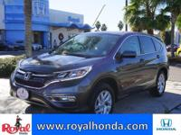 Options:  2015 Honda Cr-V Ex 2Wd|This Vehicle Has A