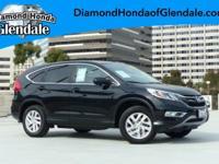 Options:  2015 Honda Cr-V Ex|Black|***Moonroof /
