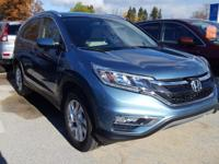 Check out this 2015 Honda CR-V EX-L. Its Variable