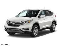 - Must see super clean 2015 honda crv ex-l - with only