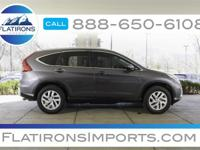 Flatirons Imports is offering this 2015 Honda CR-V