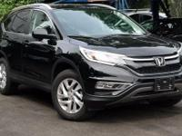 Recent Arrival! Certified. 2015 Honda CR-V EX-L Crystal
