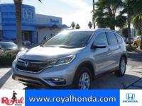 Options:  2015 Honda Cr-V Ex-L 2Wd|This Vehicle Has A