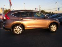 Come see this certified 2015 Honda CR-V EX-L. Its