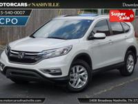 This 2015 Honda CR-V 4dr 2WD 5dr EX-L features a 2.4L 4
