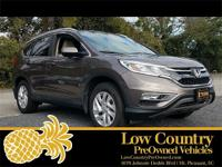 2015 Honda CR-V EX-L CARFAX One-Owner. Clean CARFAX.