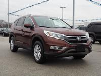 It doesn't get much better than this 2015 Honda CR-V