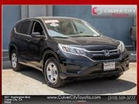 CARFAX One-Owner. Clean CARFAX. 2015 Honda CR-V LX FWD