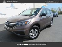 Honda Certified, CARFAX 1-Owner, GREAT MILES 35,585!