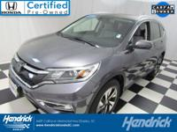 This Honda Cr-V is Certified Preowned! CARFAX 1-Owner!