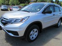 EPA 33 MPG Hwy/26 MPG City! Alabaster Silver Metallic