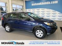 Recent Arrival! This 2015 Honda CR-V LX in Obsidian
